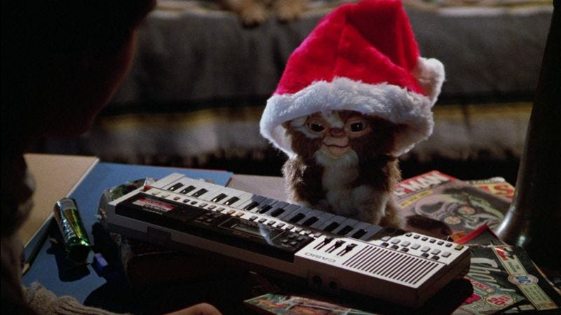Illustration for article titled Gremlins is a perfect holiday movie for those all out of Christmas cheer