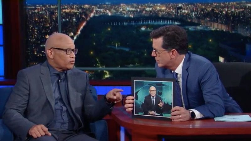 (Screenshot: The Late Show with Stephen Colbert/Getty Images)