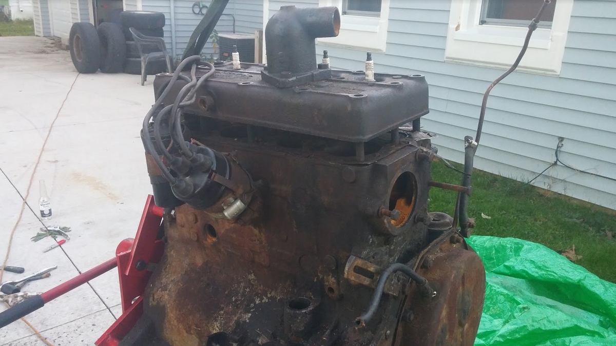 Heres What The Inside Of A Neglected World War Ii Jeep Engine Looks Little Wonder Diagrams Like
