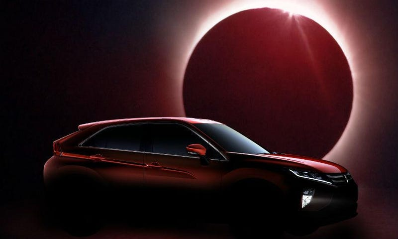 Another Eclipse: Mitsubishi's New Crossover Wears a Familiar Name