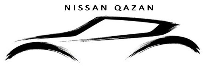 Illustration for article titled Nissan Qazan Crossover Concept: Pen Strokes Heading To Geneva