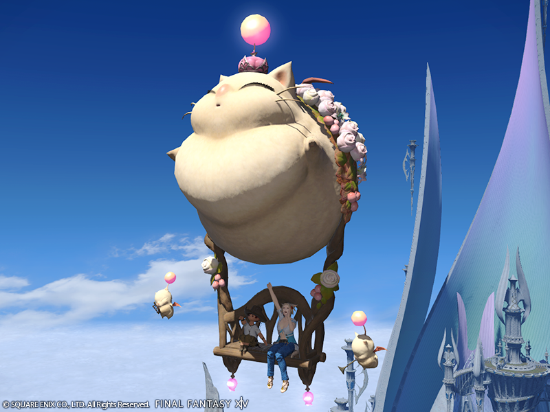 Illustration for article titled Final Fantasy XIV's New Fat Moogle Mount Costs A Whopping $30