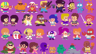 Illustration for article titled 300 Famous Characters, Redrawn in Pixels