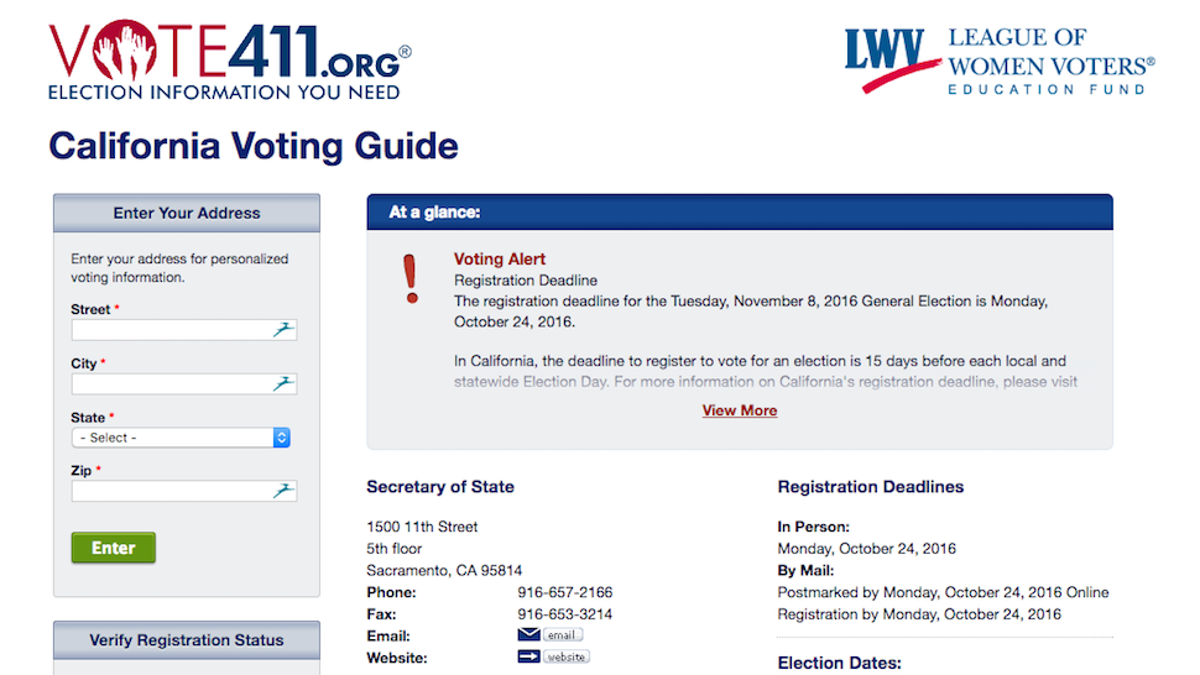 Top 10 Election Tools to Turn You Into an Informed Voter