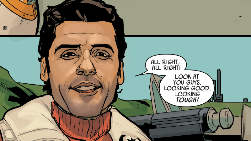 Illustration for article titled The Poe Dameron Comic Is the Force Awakens Prequel You've Been Craving