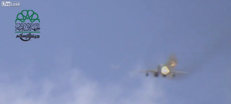 Illustration for article titled Amazing Video: What It's Like When A Syrian MiG-29 Shoots At You