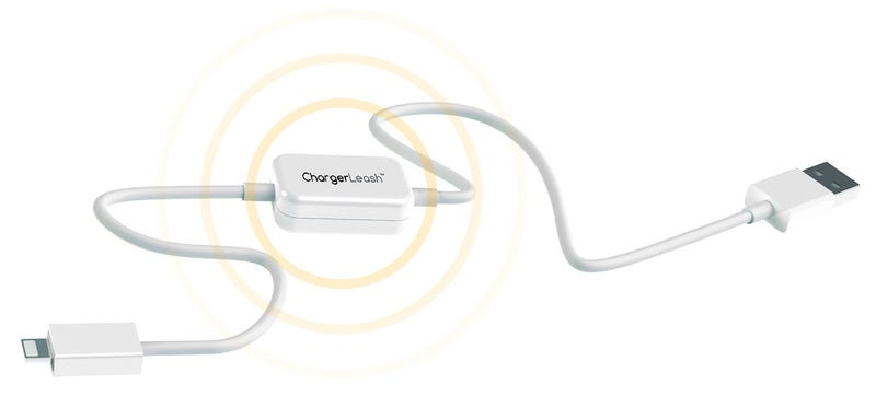 Illustration for article titled You'll Never Leave a Charging Cable With a Built-in Alarm Behind