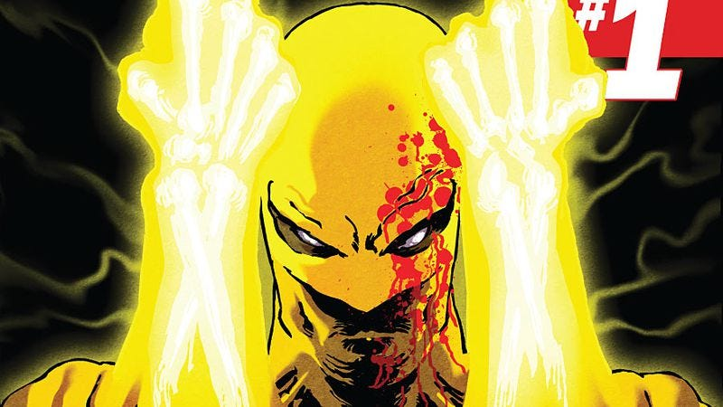 Illustration for article titled New releases include the gorgeous Iron Fist and dreary Batman: Eternal