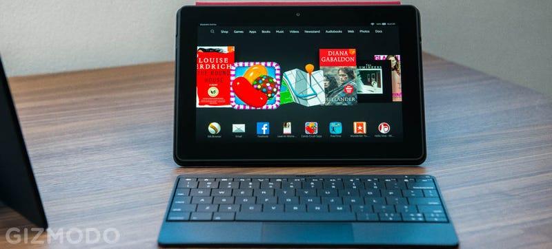 Illustration for article titled Amazon renueva su Kindle Fire HDX 8,9 y presenta tabletas para niños