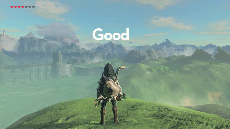 If You're Playing Zelda: Breath Of The Wild, Turn Off The