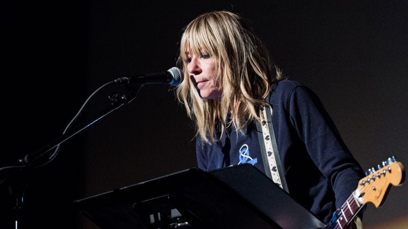 Kim Gordon: visual artist, musician, rabies-free (Photo: Getty Images)