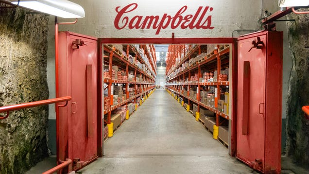 Increasingly Paranoid Campbell's Begins Stockpiling All Its Soup To Prepare For Doomsday