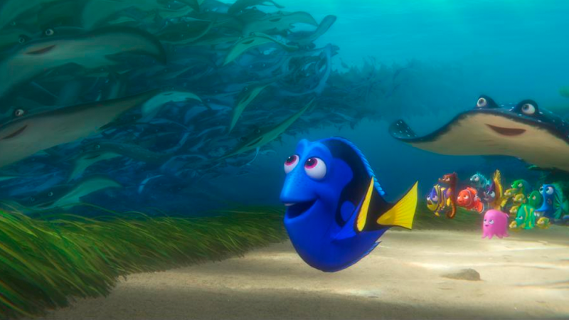 Illustration for article titled Fish Movie Finding Dory Is Already Setting Records