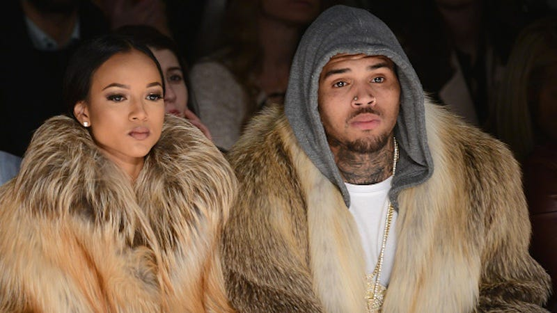 Illustration for article titled Karrueche Tran Wants All This 'Petty Shit' With Chris Brown to Stop
