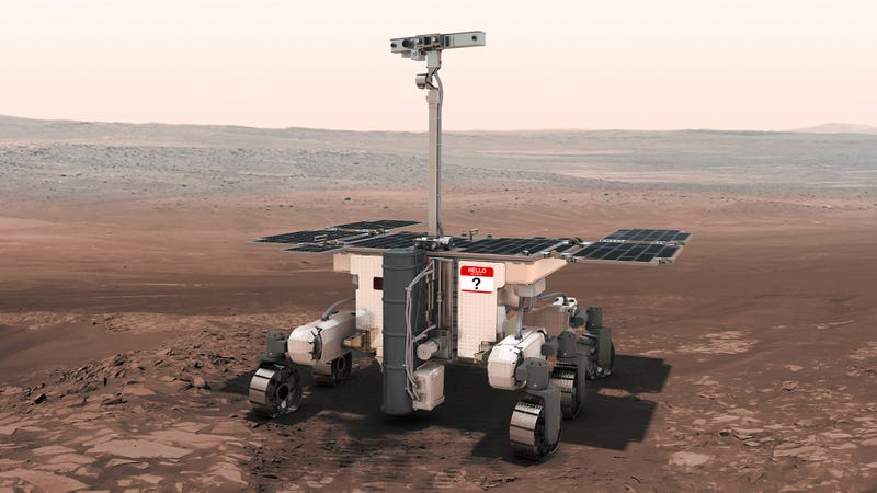 Illustration for article titled The UK Needs Help Naming Their Mars Rover, and Yes, They Already Thought of That One