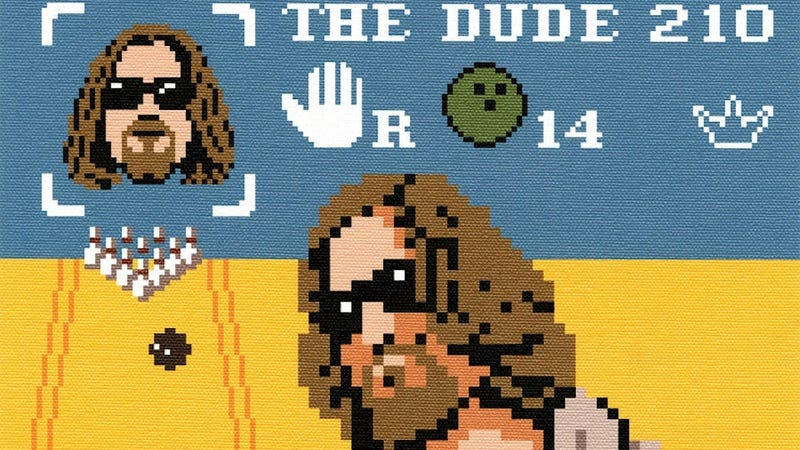 Illustration for article titled A Pixelated Big Lebowski Game Would Have You Play As 'The Dude' And It Would Be Awesome