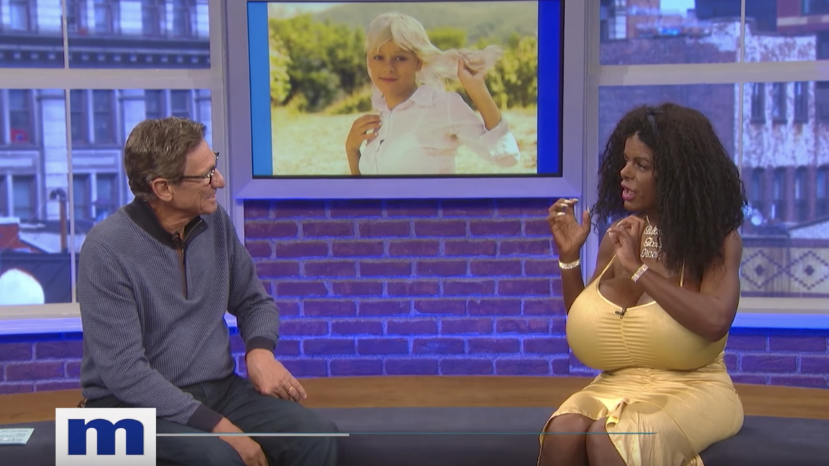 White Woman Discusses Her 'Black Woman' Transition on Maury