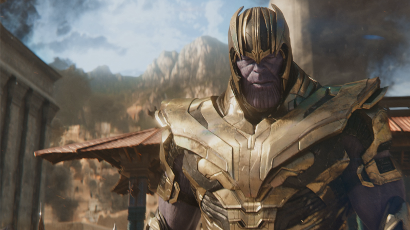 The Mad Titan carves a bloody path in Avengers: Infinity War, but someone  is on the way to stop him. Image: Avengers: Infinity War (Marvel Studios)