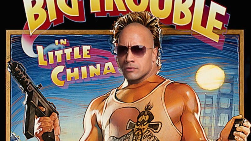Illustration for article titled Dwayne Johnson might star in a remake of Big Trouble In Little China