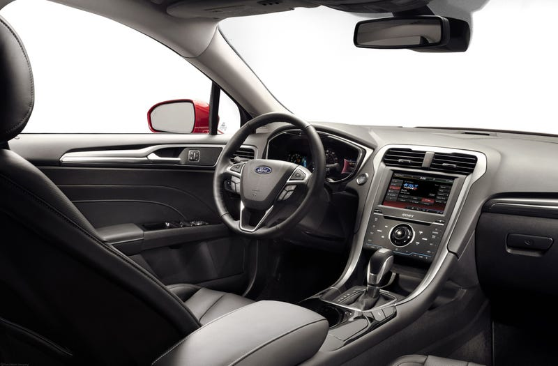 2013 ford fusion the jalopnik review - 2015 Ford Fusion Hybrid Black