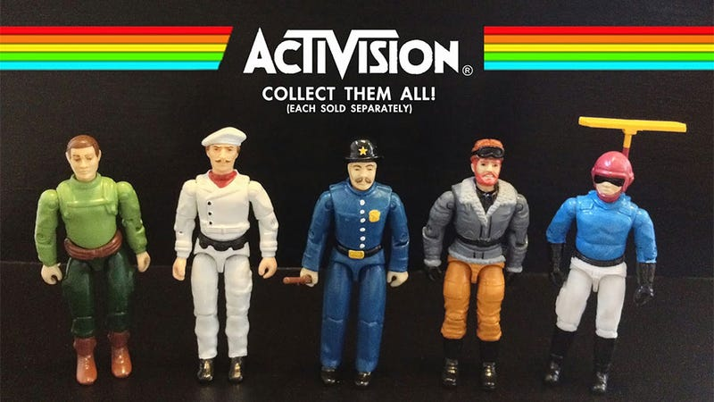 Illustration for article titled The Activision Action Figures The Atari Age Deserved