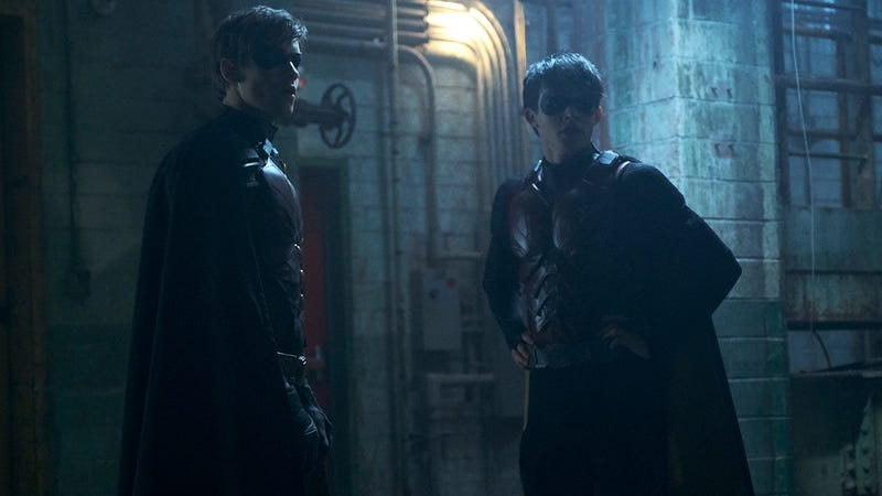 Dick Grayson and Jason Todd.