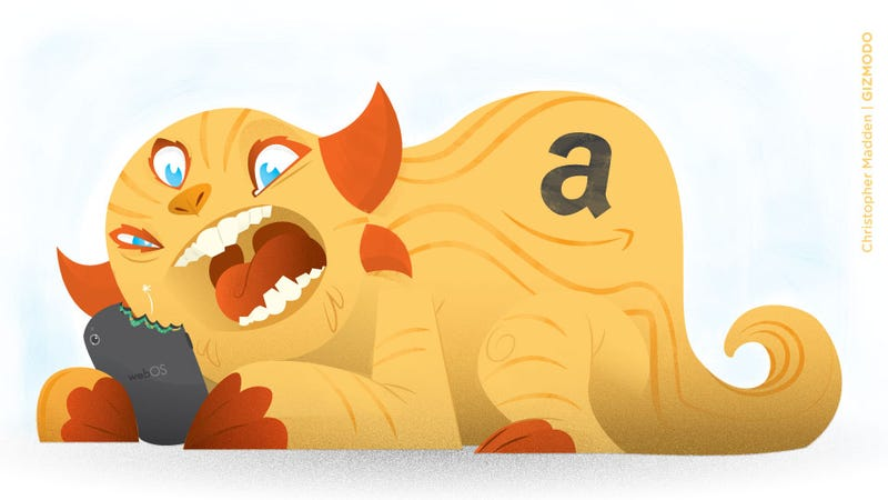 Illustration for article titled Amazon Should Buy WebOS