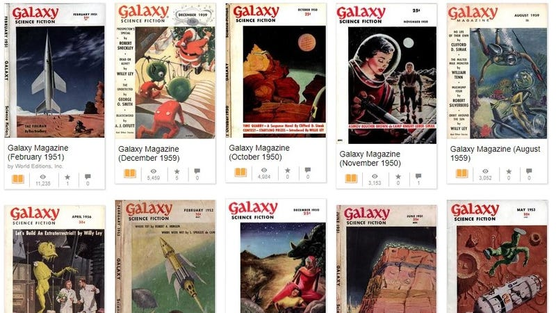Dig Into Nearly 30 Years of Free Classic Science Fiction