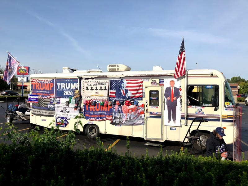 Illustration for article titled The Trump RV