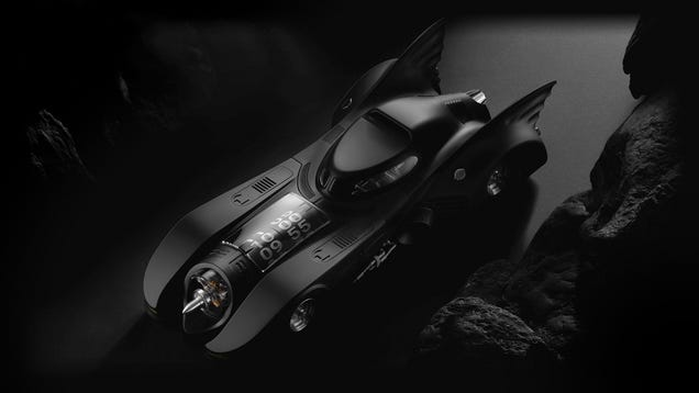 Don t Call Yourself a Batman Fan If You Won t Pay $29,900 For This Batmobile Desk Clock