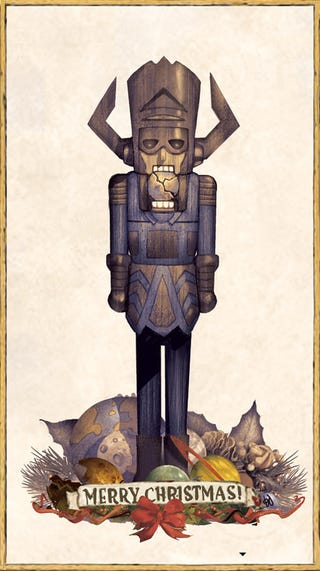 Illustration for article titled Oh, the world didn't end yesterday? Nutcracker Galactus will take care of that.