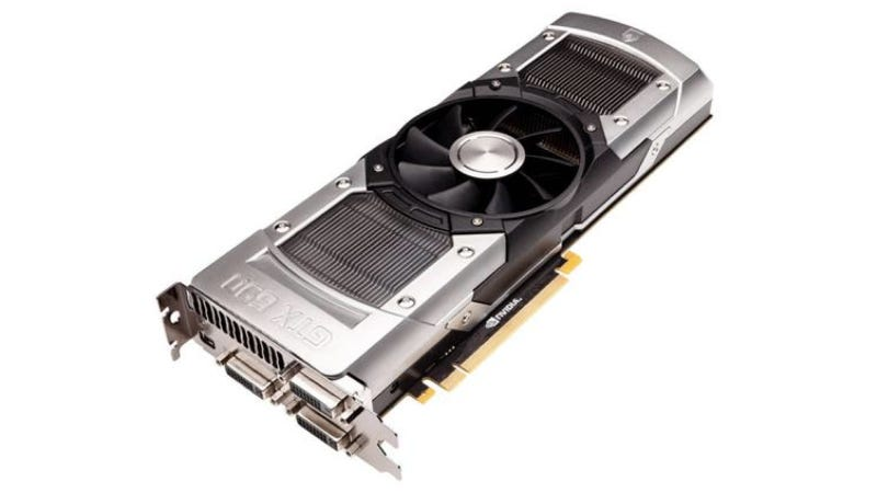 Illustration for article titled Nvidia's GeForce GTX 690 Is Its Face-Meltingest Video Card Yet