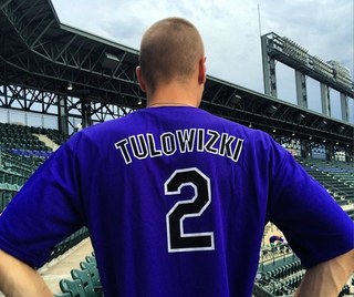 Illustration for article titled The Rockies Misspelled Troy Tulowitzki's Name On Jersey Giveaway Night