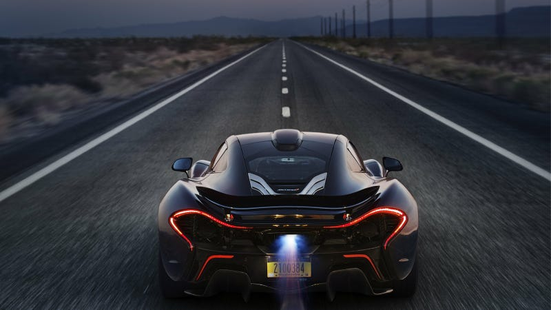 Illustration for article titled The McLaren P1 In The Desert Makes For Glorious Car Porn