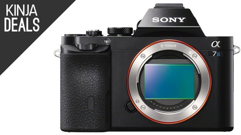 Illustration for article titled Save $700 on the Remarkable, Full Frame Sony A7s