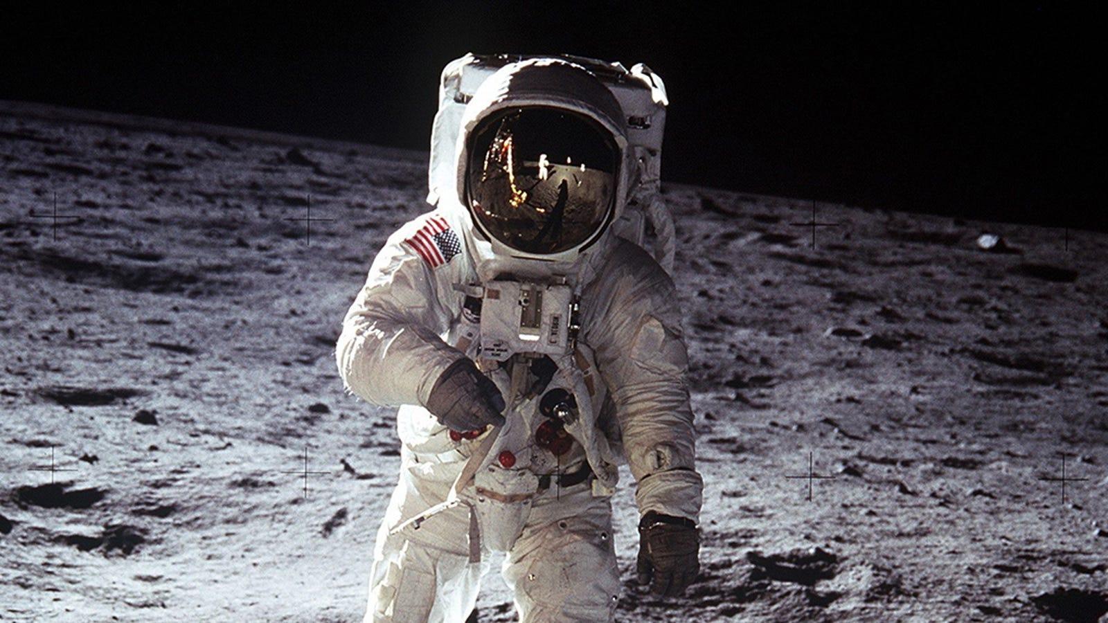 Por qué las grabaciones del Apolo 11 en la Luna no son ningún fraude