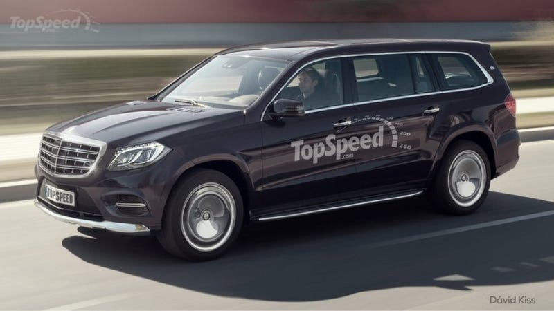Illustration for article titled Here's What The First Maybach Mercedes 4x4 Will Probably Look Like