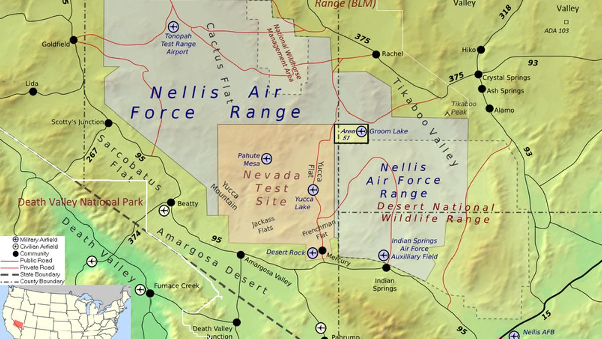 America's Secret Airline Flies Non-Stop To Area 51