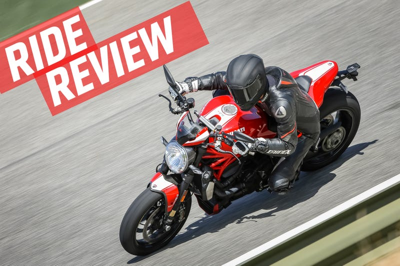 Illustration for article titled Ride Review: The 2016 Ducati Monster 1200 R Is Powerful, But Is It Enough?