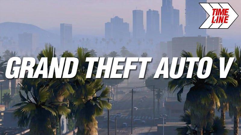 Illustration for article titled Kotaku Timeline: Grand Theft Auto V