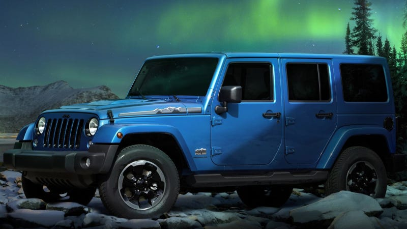 Illustration for article titled Jeep Wrangler Polar: The New Limited-Edition Model Of The Iconic Jeep Wrangler Celebrates Winter Driving 4x4 Capability