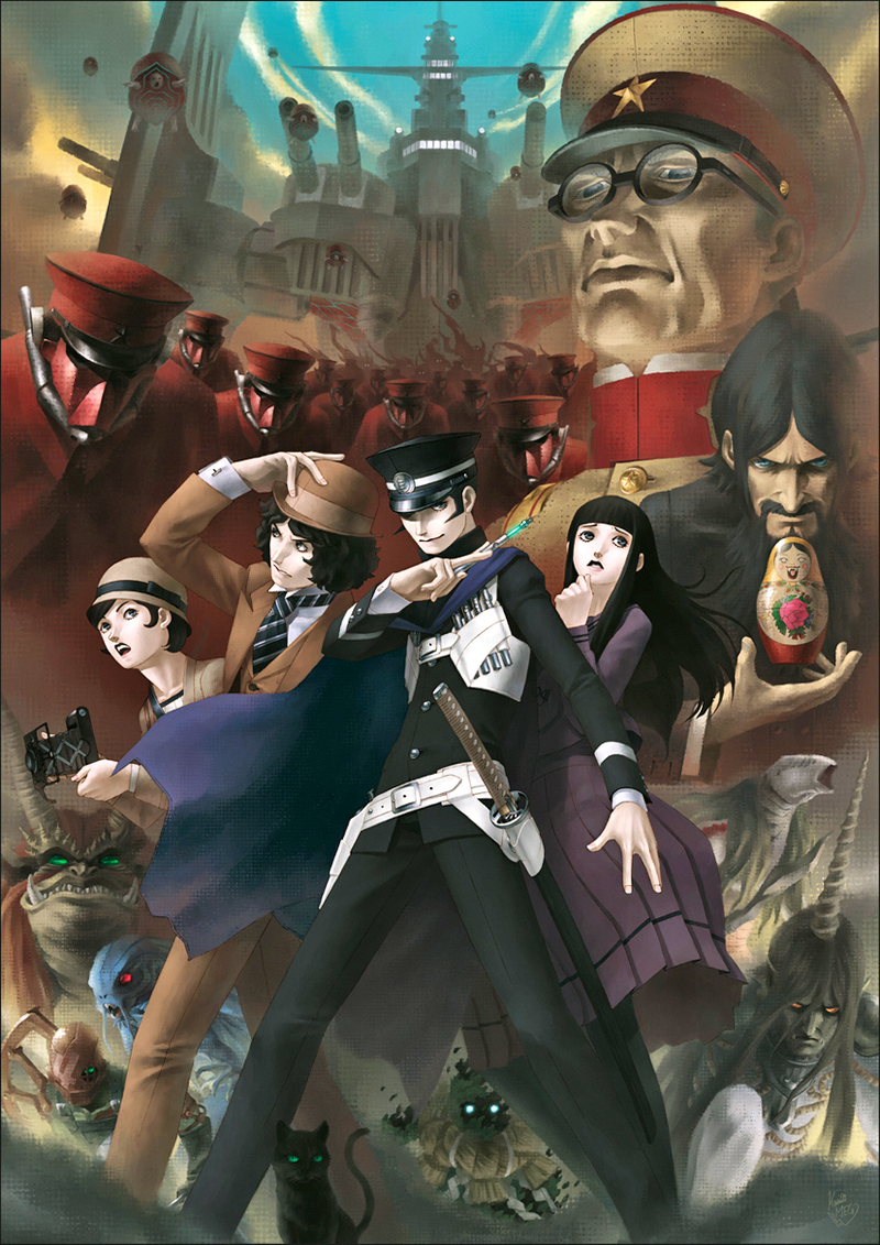 Illustration for article titled Devil Summoner: Raidou Kuzunoha vs The Soulless Army Coming to PSN