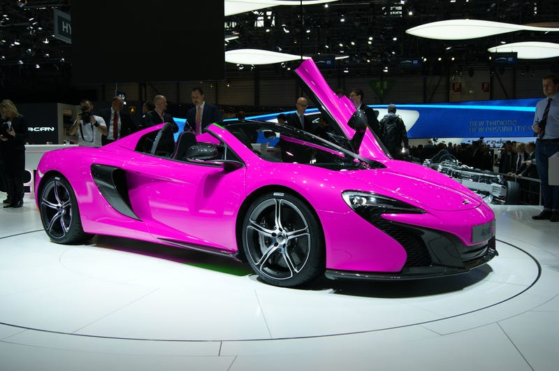 Illustration for article titled mmmmm.....McLaren 650S
