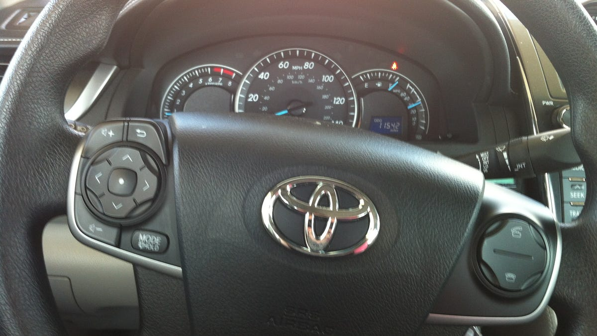 The 2014 Camry Will Make You Suck At Driving Toyota Steering Wheel