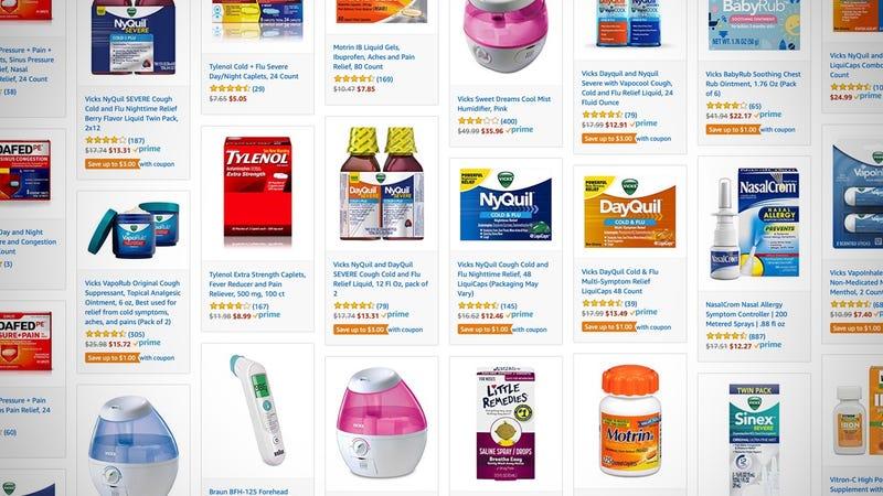 Cold & Flu Gold Box   Amazon