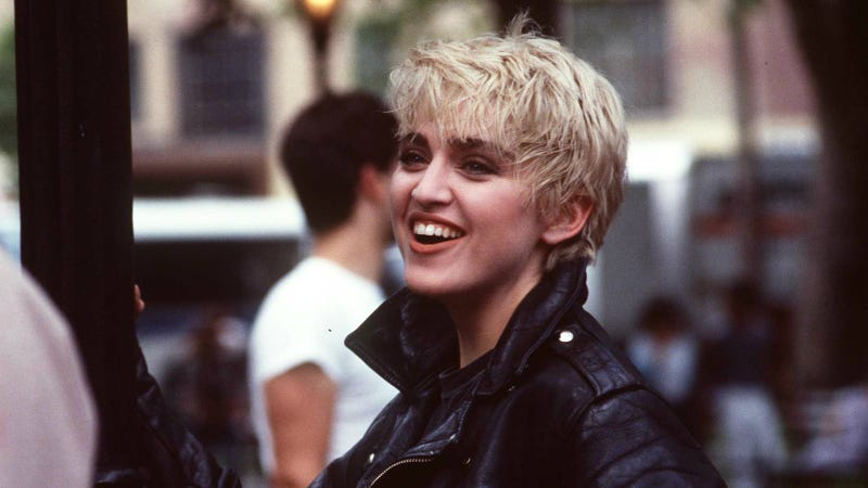 Madonna in 1986. Photo via Getty Images.