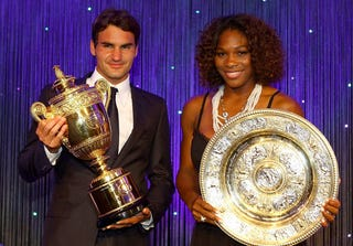 Illustration for article titled Everyone's A Winner At Wimbledon Winners Party