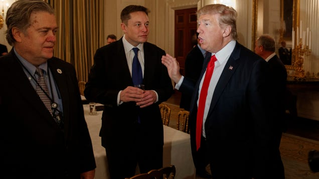 Big Praise: Trump Says Elon  Does Good at Rockets,  Zuck s  Done a Hell of a Job
