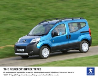 Illustration for article titled Peugeot Bipper Teepee Pictures