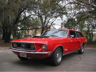 The Ford Mustang Station Wagon That Never Was